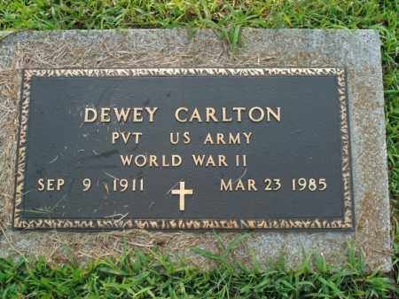 CARLTON  (VETERAN WWII), DEWEY - Boone County, Arkansas | DEWEY CARLTON  (VETERAN WWII) - Arkansas Gravestone Photos