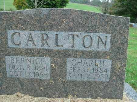 CARLTON, BERNICE - Boone County, Arkansas | BERNICE CARLTON - Arkansas Gravestone Photos