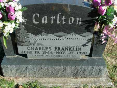 CARLTON, CHARLES FRANKLIN - Boone County, Arkansas | CHARLES FRANKLIN CARLTON - Arkansas Gravestone Photos