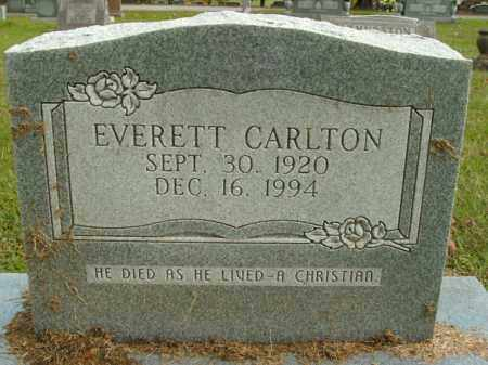 CARLTON, EVERETT - Boone County, Arkansas | EVERETT CARLTON - Arkansas Gravestone Photos
