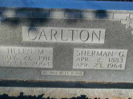 CARLTON, SHERMAN G. - Boone County, Arkansas | SHERMAN G. CARLTON - Arkansas Gravestone Photos