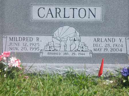 CARLTON, MILDRED R. - Boone County, Arkansas | MILDRED R. CARLTON - Arkansas Gravestone Photos