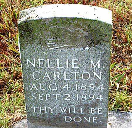 CARLTON, NELLIE M. - Boone County, Arkansas | NELLIE M. CARLTON - Arkansas Gravestone Photos