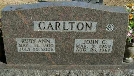 CARLTON, RUBY ANN - Boone County, Arkansas | RUBY ANN CARLTON - Arkansas Gravestone Photos