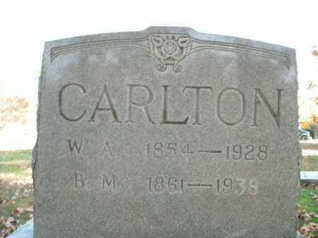 CARLTON, W.A. - Boone County, Arkansas | W.A. CARLTON - Arkansas Gravestone Photos