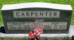 CARPENTER, MANDY - Boone County, Arkansas | MANDY CARPENTER - Arkansas Gravestone Photos