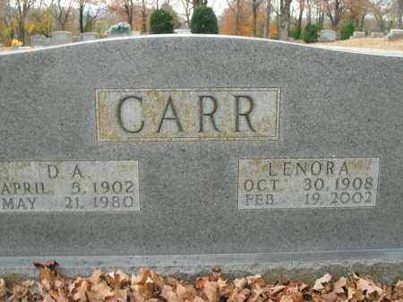 CARR, LENORA - Boone County, Arkansas | LENORA CARR - Arkansas Gravestone Photos