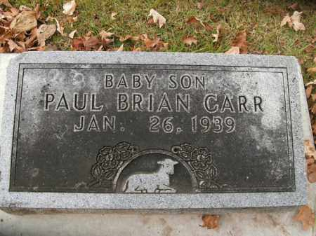 CARR, PAUL BRIAN - Boone County, Arkansas | PAUL BRIAN CARR - Arkansas Gravestone Photos
