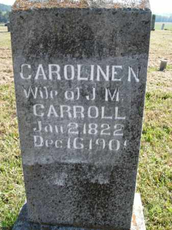 CARROLL, CAROLINE N. - Boone County, Arkansas | CAROLINE N. CARROLL - Arkansas Gravestone Photos