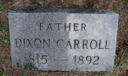 CARROLL, DIXON - Boone County, Arkansas | DIXON CARROLL - Arkansas Gravestone Photos