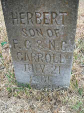 CARROLL, HERBERT - Boone County, Arkansas | HERBERT CARROLL - Arkansas Gravestone Photos