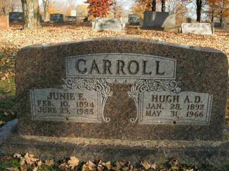 CARROLL, HUGH A.D. - Boone County, Arkansas | HUGH A.D. CARROLL - Arkansas Gravestone Photos