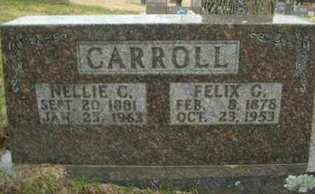 CARROLL, NELLIE C. - Boone County, Arkansas | NELLIE C. CARROLL - Arkansas Gravestone Photos
