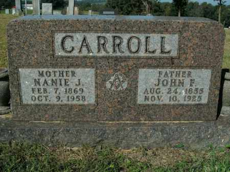 CARROLL, JOHN F. - Boone County, Arkansas | JOHN F. CARROLL - Arkansas Gravestone Photos