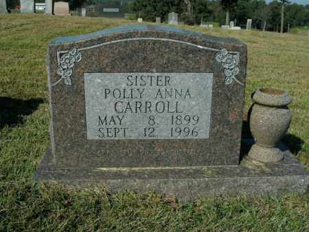 CARROLL, POLLY ANNA - Boone County, Arkansas | POLLY ANNA CARROLL - Arkansas Gravestone Photos