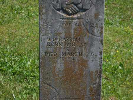CARROLL, W. O. - Boone County, Arkansas | W. O. CARROLL - Arkansas Gravestone Photos