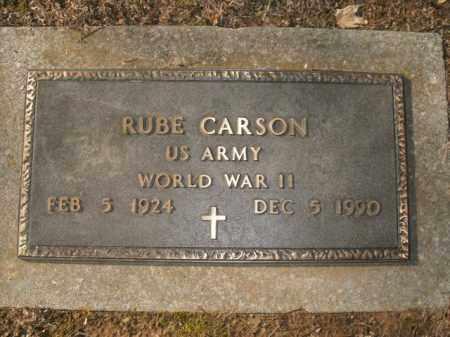 CARSON  (VETERAN WWII), RUBE - Boone County, Arkansas | RUBE CARSON  (VETERAN WWII) - Arkansas Gravestone Photos