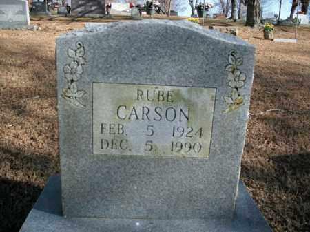 CARSON, RUBE - Boone County, Arkansas | RUBE CARSON - Arkansas Gravestone Photos