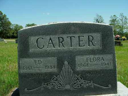 CARTER, FLORA - Boone County, Arkansas | FLORA CARTER - Arkansas Gravestone Photos