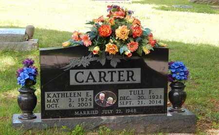 CARTER, KATHLEEN ELIZABETH - Boone County, Arkansas | KATHLEEN ELIZABETH CARTER - Arkansas Gravestone Photos