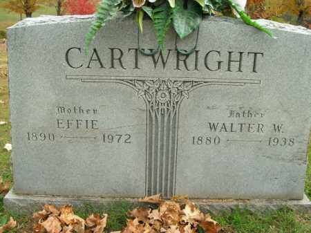 CARTWRIGHT, WALTER W. - Boone County, Arkansas | WALTER W. CARTWRIGHT - Arkansas Gravestone Photos