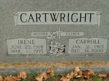 CARTWRIGHT, IRENE - Boone County, Arkansas | IRENE CARTWRIGHT - Arkansas Gravestone Photos