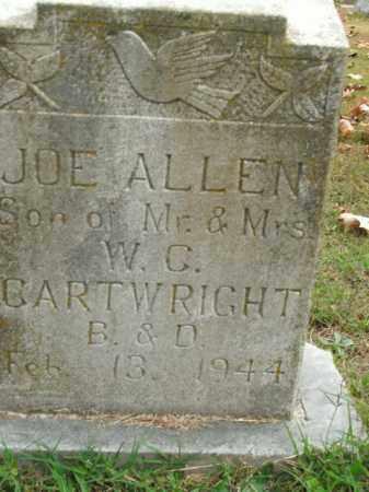 CARTWRIGHT, JOE ALLEN - Boone County, Arkansas | JOE ALLEN CARTWRIGHT - Arkansas Gravestone Photos