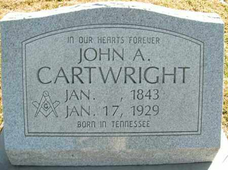 CARTWRIGHT, JOHN A. - Boone County, Arkansas | JOHN A. CARTWRIGHT - Arkansas Gravestone Photos