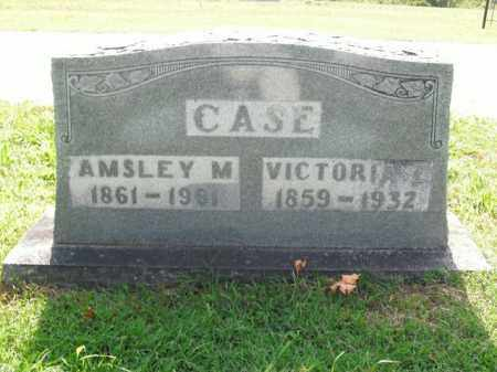 CASE, VICTORIA E. - Boone County, Arkansas | VICTORIA E. CASE - Arkansas Gravestone Photos