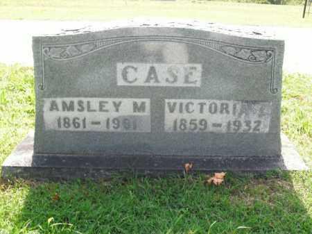 CASE, AMSLEY M. - Boone County, Arkansas | AMSLEY M. CASE - Arkansas Gravestone Photos