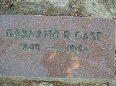 CASE, GARLAND R. - Boone County, Arkansas | GARLAND R. CASE - Arkansas Gravestone Photos