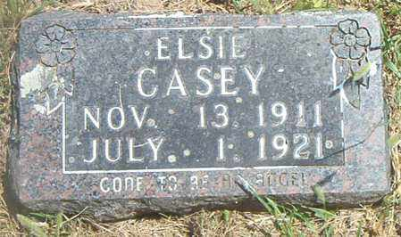 CASEY, ELSIE - Boone County, Arkansas | ELSIE CASEY - Arkansas Gravestone Photos