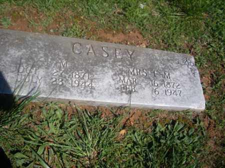 CASEY, F. M. - Boone County, Arkansas | F. M. CASEY - Arkansas Gravestone Photos