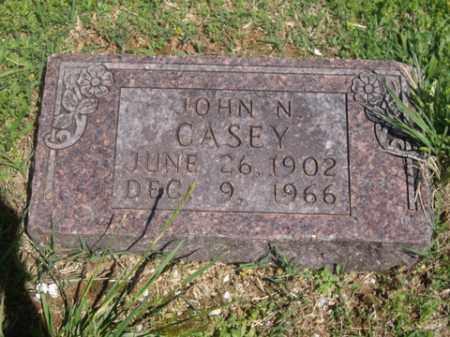 CASEY, JOHN N. - Boone County, Arkansas | JOHN N. CASEY - Arkansas Gravestone Photos
