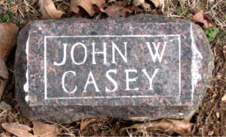 CASEY, JOHN  W. - Boone County, Arkansas | JOHN  W. CASEY - Arkansas Gravestone Photos