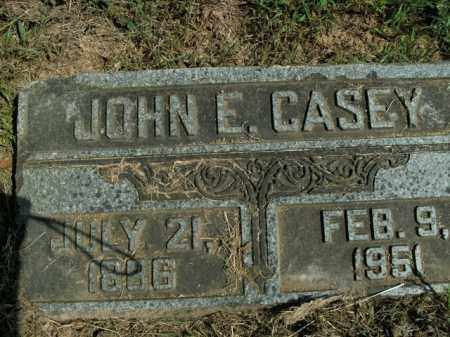 CASEY, JOHN E. - Boone County, Arkansas | JOHN E. CASEY - Arkansas Gravestone Photos