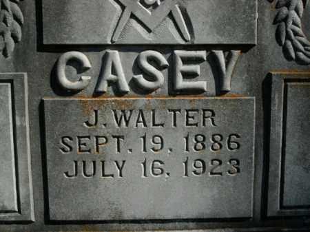 CASEY, J. WALTER - Boone County, Arkansas | J. WALTER CASEY - Arkansas Gravestone Photos