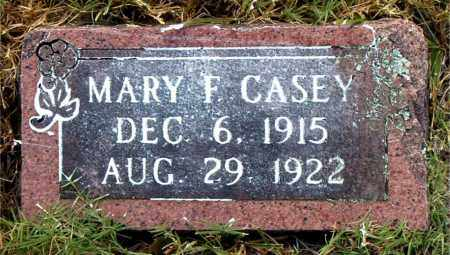 CASEY, MARY F. - Boone County, Arkansas | MARY F. CASEY - Arkansas Gravestone Photos