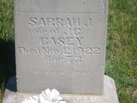 CASEY, SARRAH JANE - Boone County, Arkansas | SARRAH JANE CASEY - Arkansas Gravestone Photos