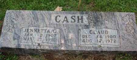 CASH, CLAUD (OPIE) - Boone County, Arkansas | CLAUD (OPIE) CASH - Arkansas Gravestone Photos