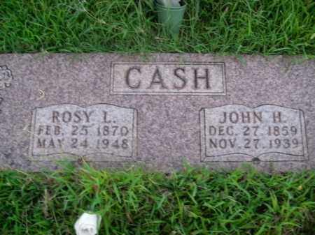 CASH, JOHN HARRISON - Boone County, Arkansas | JOHN HARRISON CASH - Arkansas Gravestone Photos
