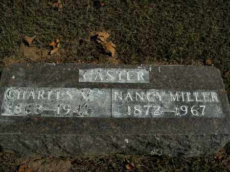 MILLER CASTER, NANCY - Boone County, Arkansas | NANCY MILLER CASTER - Arkansas Gravestone Photos