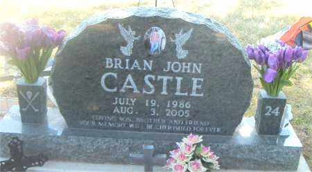 CASTLE, BRIAN JOHN - Boone County, Arkansas | BRIAN JOHN CASTLE - Arkansas Gravestone Photos