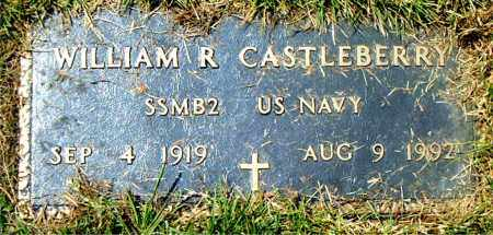 CASTLEBERRY (VETERAN), WILLIAM  R. - Boone County, Arkansas | WILLIAM  R. CASTLEBERRY (VETERAN) - Arkansas Gravestone Photos
