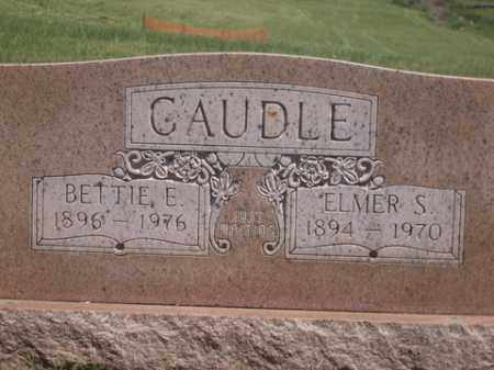 CAUDLE, BETTIE E. - Boone County, Arkansas | BETTIE E. CAUDLE - Arkansas Gravestone Photos