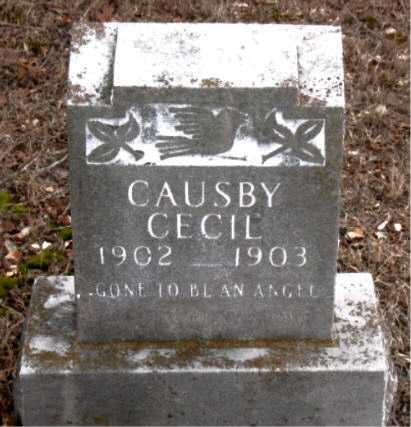 CECIL, CAUSBY - Boone County, Arkansas | CAUSBY CECIL - Arkansas Gravestone Photos