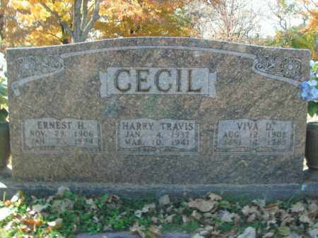 CECIL, HARRY TRAVIS - Boone County, Arkansas | HARRY TRAVIS CECIL - Arkansas Gravestone Photos