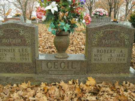 CECIL, MINNIE LEE - Boone County, Arkansas | MINNIE LEE CECIL - Arkansas Gravestone Photos