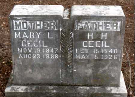 CECIL, MARY L. - Boone County, Arkansas | MARY L. CECIL - Arkansas Gravestone Photos