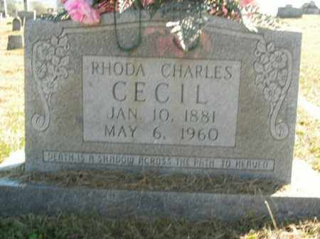 CECIL, RHODA - Boone County, Arkansas | RHODA CECIL - Arkansas Gravestone Photos